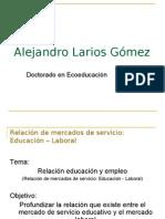 Relación de mercados de servicio Educación - Laboral