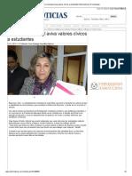 14-11-2013 'Gobierno municipal aviva valores cívicos a estudiantes'.