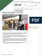 14-11-2013 'Soluciona municipio necesidades básicas de colonias en Reynosa'.