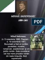 Ppt m.sadoveanu