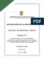 Resumen-cap-5 Hernandez Sampieri Seminario