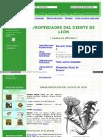 Www Botanical Online Com Medicinalstaraxacumcastella Htm
