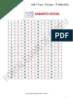 Original 3 Simulado Oab 1fase Xi Exame Gabarito
