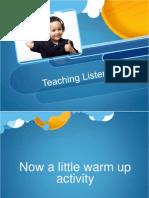 teaching listening final