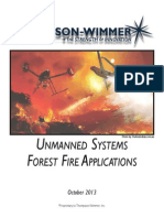 unmanned systems forest fire applications