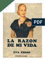 La Razon de Mi Vida Eva Peron