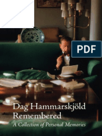 2011 Hammarskjold Remembered