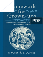Homework for Grown-ups Excerpt by E. Foley and B. Coates - Excerpt