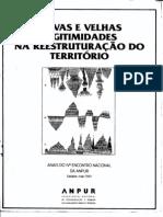 Anais do IV Encontro Nacional da ANPUR 1991 vol. único