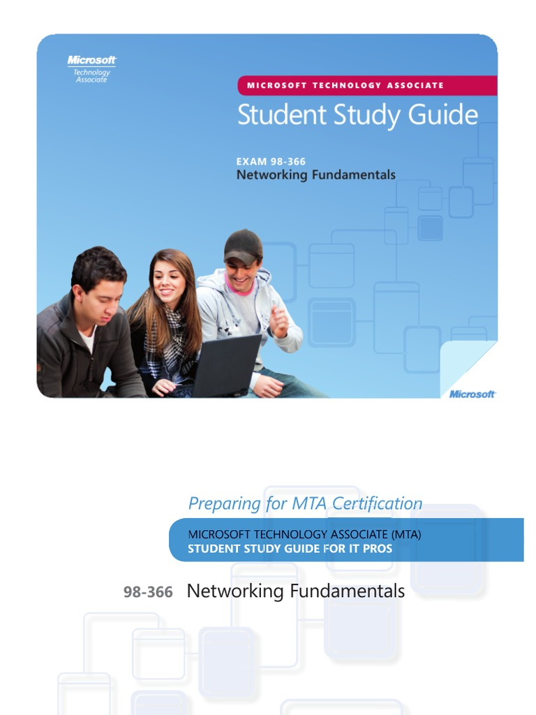 Mta Networking Fundamentals Study Guide Network Topology Network