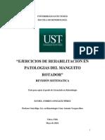6_EJERCICIOS DE REHABILITACIÓN EN PATOLOGIAS DEL MANGUITO ROTADOR - REVISIÓN SISTEMATICA