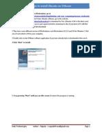 Steps to Install Ubuntu on VMware Version 1.0