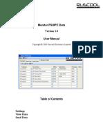 Monitor FSUIPC Data (User Manual - Version 3.0)