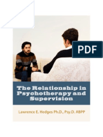 Relationship in Psychotherapy and Supervision