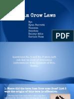 jim crow p3a