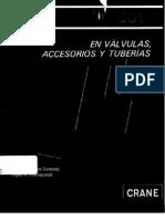 Flujo de Fluidos en Valvulas, Accesorios y Tuberias - Crane