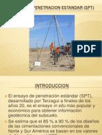 Diapositivas de Ensayo de Penetracion Estandar (Spt)