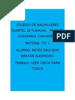 Reyes Saucedo Brayan Alejandro
