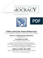 China and East Asian Democracy the Coming Wave