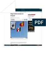 Bandera con Mariguana