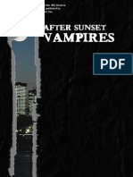 After Sunset Vampires
