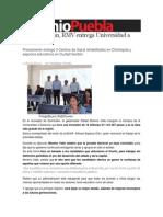 11-07-2013 Sexenio Puebla - En Quimixtlán, RMV entrega Universidad a Distancia