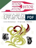 Cenaclul EDITOR - 2008