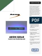 Aeon Gold Control Unit