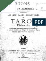 Les 22 Lames Du Tarot Egyptien