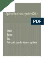 Aplicación al caso chileno