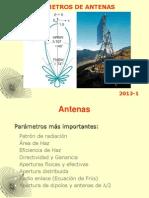 2013-1 Unidad 2 B Parámetros de Antenas