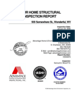 Sample Structural Report