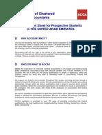 Student Information Sheet-UAE