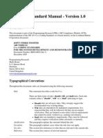 JCM 1.0 QACPP 2.3 Coding Standard Manual