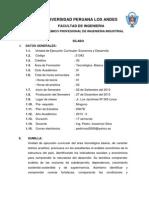 SILABO ECONOMÍA Y DESARROLLO- 2013-II ING. INDUSTRIAL