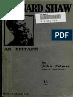 41466855 Bernard Shaw an Epitaph