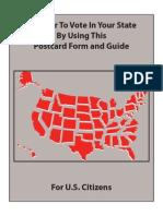Federal Voter Registration Form 1209 En9242012