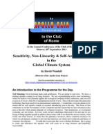 Sensitivity, Non-Linearity & Self-Amplification in the Global Climate System