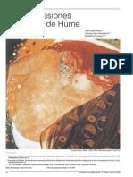 Razón y pasiones en la ética de Hume