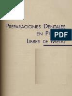 Separata - Preparaciones Dentales en Protesis Libres de Metal
