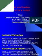 Hak Dan Kewajiban Dokter-Pasien