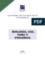 Yolanda Ruiz - Biología, cultura y violencia