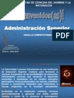 Administracion Superior Ciclo II 2013