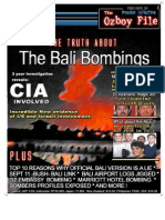 Truth About 2002 Bali Bombings