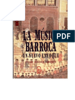 La Musica Barroca Oscar Ohlsen
