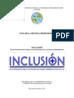 Guia Revista Profesional Inclusion del CPCR