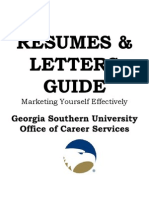 Resumes & Letters Guide