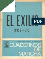 Cuadernos de Marcha, núm. 71, Peronismo. El exilio (1955-1973)