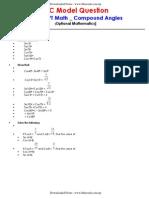 SLC _ OPT Math _ Compound Angles