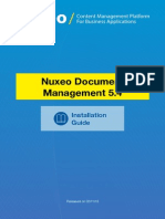 Nuxeo DM 5.4 InstallationGuide